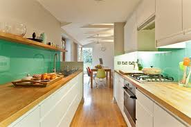 green glass backsplashes for kitchens intensify the look of your kitchen with 20 glass back painted