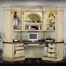 french style corner desk center w hutch