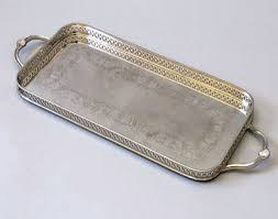 engraved silver platter silver tray