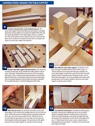 build your own carving stand u2022 woodarchivist