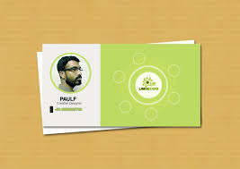 Id Card Design Psd Free Download Free Green Business Card Design Source Psd Design Inspiration