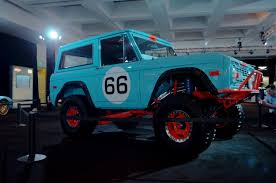 blue bronco car 1966 ford bronco heritage by galpin ford authority