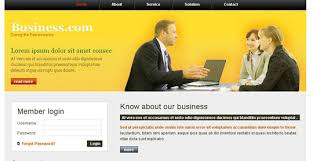free templates for official website 45 free and high quality css xhtml business website templates