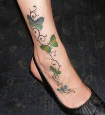 butterfly ankle tattoos meaning images