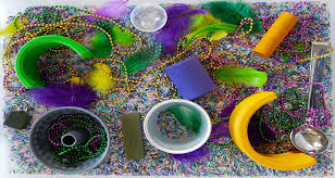 mardi gras babies mardi gras sensory box for babies and toddlers nanny my baba