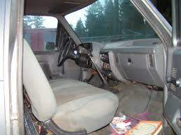 Ford F150 Truck Interior - 1989 ford f150