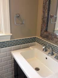 How To Make A Backsplash For A Bathroom Vanity Home Design Ideas - Bathroom sink backsplash
