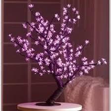 2m led cherry trees framing an entrance light design