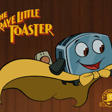 The Brave Little Toaster Goes To Mars Vhs Brave Little Toaster Movie