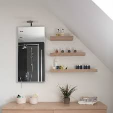Small Attic Bathroom Sloped Ceiling by Shelves And A Slanted Ceiling Bathroom Pinterest Ceilings