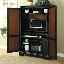 Armoire Desks Home Office Computer Armoire Desk Computer Desk Cherry Wood All Home Ideas And