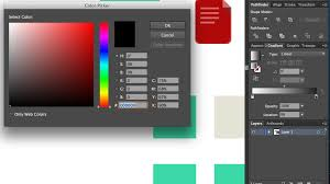 how to use the color picker in illustrator graphic design stack