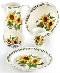portmeirion botanic garden sunflower collection dinnerware