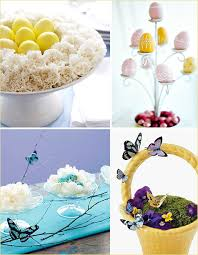 Easter Decorations Modern by Stylish U0026 Modern Easter Centerpieces Hostess With The Mostess