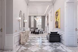 spacius the spacious apartment in paris with stunning mid century lighting