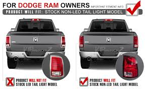 2014 ram 1500 tail lights 2009 2018 dodge ram 1500 2500 3500 fiber optic sinister black led