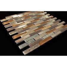 Slate Kitchen Backsplash by Slate Tile Backsplash Traditional Tile Cleveland By Al2650 Glass
