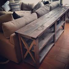 inspirational building a sofa table interior