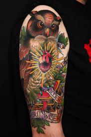 la ink owl designs owl tattoos la ink owl