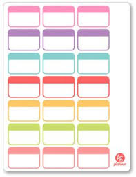 erin condren life planner free printable stickers printable planner stickers bow glasses half boxes girly reading