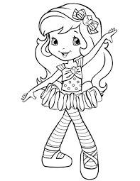 22 strawberry shortcake coloring pages free to print coloring