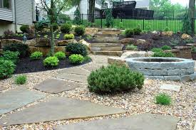 decorative landscape stone edging u2014 marissa kay home ideas
