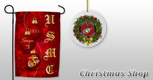 marine corps ornaments and
