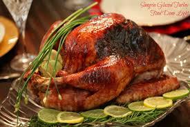 sangria glazed turkey food done light