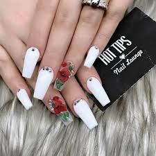 best 25 long white nails ideas on pinterest long nail designs