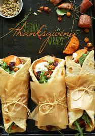 healthy thanksgiving recipes vegan thanksgiving wraps minimalist baker recipes