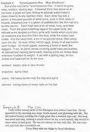 Comparative Essay Example Narrative Descriptive Essay Sample
