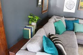 Sofa Back Table by Diy Narrow Sofa Table With Outlet