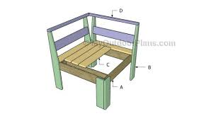 Outdoor Wood Sectional Furniture Plans by Corner Outdoor Sectional Plans Myoutdoorplans Free Woodworking