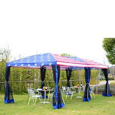 tent party outsunny 10x20ft pop up tent party wedding canopy gazebo patio