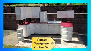 Vintage Cabinets Kitchen Vintage 1950s Retro Youngstown Kitchen Set Cabinets Cupboards