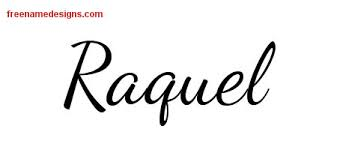 raquel archives free name designs