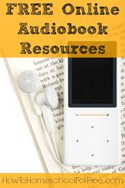 free audiobook resources how to homeschool for free