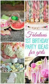 baby girl 1st birthday themes baby girl turns one design dazzle