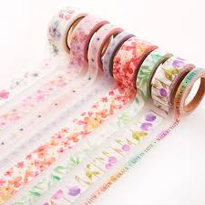 washi tape blossoms of blessings 8 rolls in set christian art gifts
