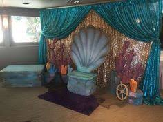 mermaid themed baby shower the sea photo booth clam bench mermaid birthday wishes