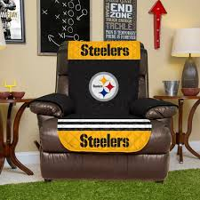 steelers quilted recliner chair cover