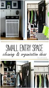 Small Entry Ideas Organizing Ideas For Small Spaces