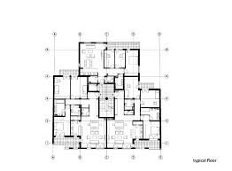 Residential Building Floor Plans by Gallery Of Residential Building In Vase Stajića Street Kuzmanov