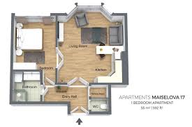 kosher kitchen floor plan apartment prague czech republic booking com