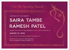 ganesh wedding invitations wedding invitations painted ganesh at minted