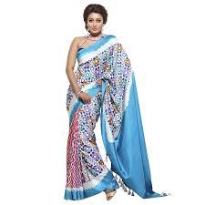 arong saree aarong ivory printed and painted silk saree একখ ন