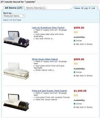 caskets prices walmart caskets for sale online starting at 999 photos huffpost