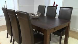 dark wood furniture large verona oak dining table youtube