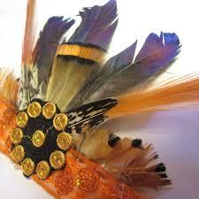 Mayan Halloween Costume Mini Mayan Empress Feather Headdress Children U0027s Halloween Costume