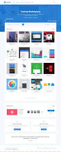 627 best template images on pinterest ui design web layout and